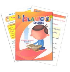 Islamic Studies Grade 1 (Year 2, Ages 6-7) (2 Student books & 2 Activity books)