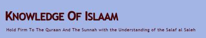Knowledge of Islaam